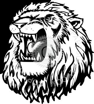 Roaring lion head - PNG Lion Head Roaring
