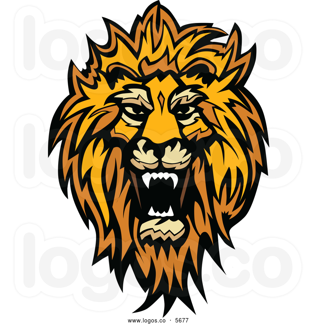 Roaring lion head clipart collection - PNG Lion Head Roaring