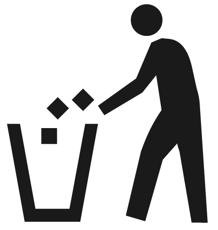 litter container - /signs_symbol/ecology/recycle/litter/litter_container.png .html - PNG Litter