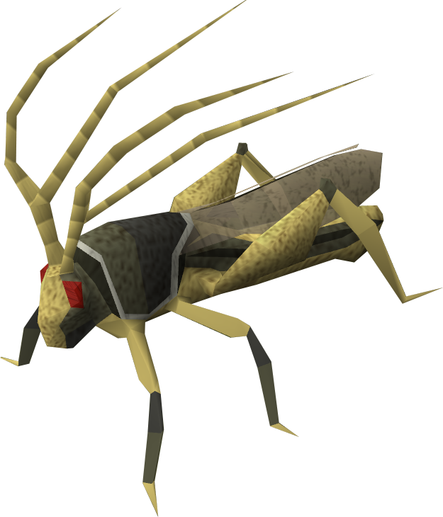 Ravenous locust.png - PNG Locust