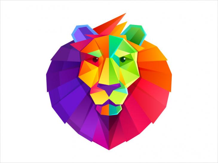 Lion Head Logo Design - PNG Logo Design