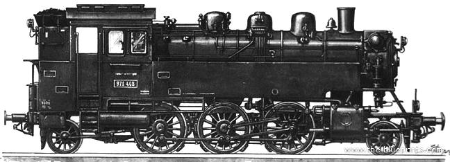 BR64 Kriegs Lokomotive - PNG Lokomotive