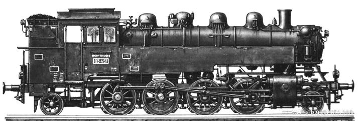 BR86 Kriegs Lokomotive - PNG Lokomotive