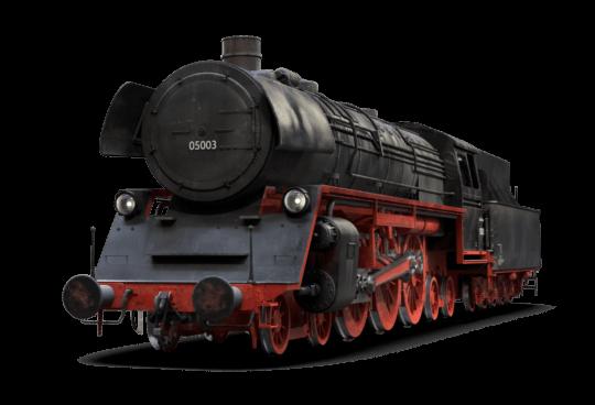 Die deutsche Dampflok der Baureihe 05 - PNG Lokomotive