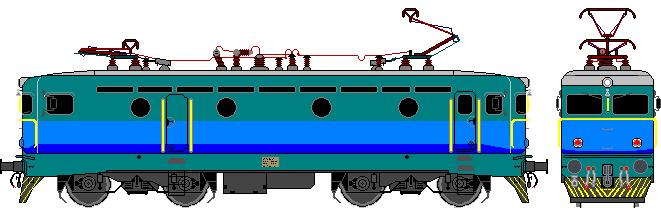 File:HŽ 1141 series locomotive drawing special BiH livery.PNG - PNG Lokomotive