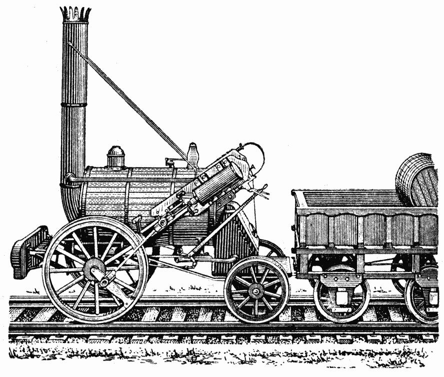File:Steam locomotive rocket.png - PNG Lokomotive