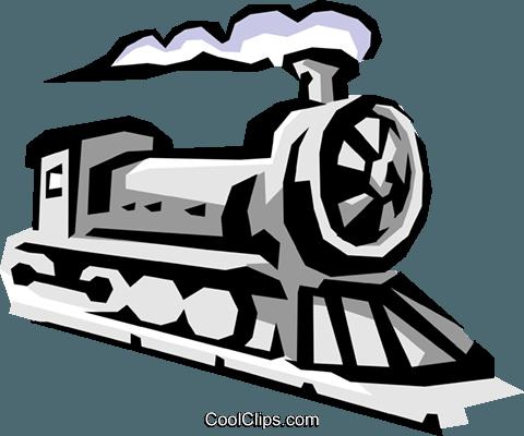 Lokomotive Vektor Clipart Bild - PNG Lokomotive