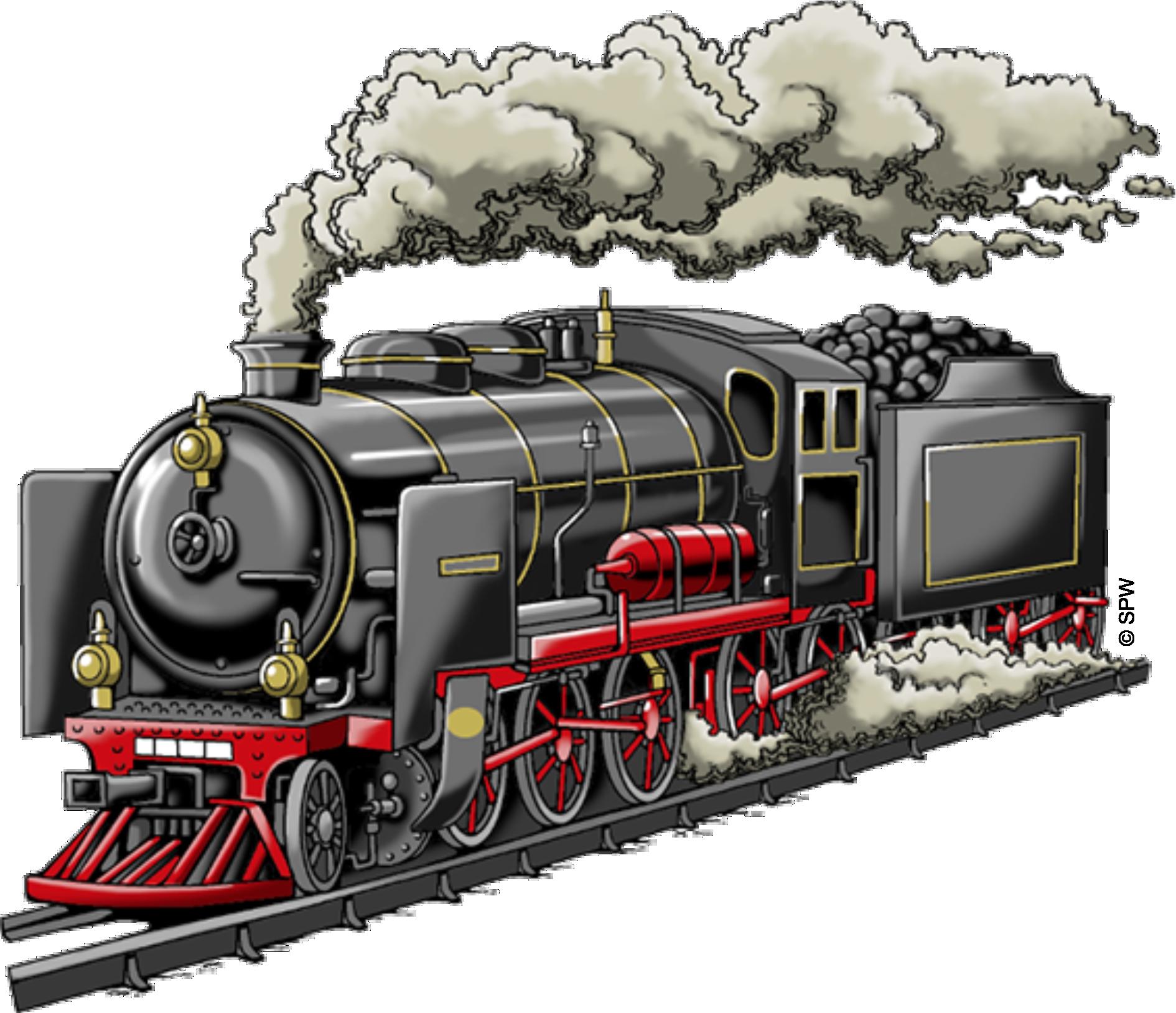 T-Shirt mit Eisenbahn Lokomotive Liliputbahn - auch mit Name - PNG Lokomotive