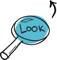 Look - Design Thinking - PNG Look