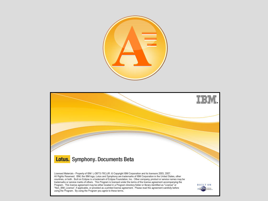 Taking a look at IBM Lotus Symphony Documents - PNG Lotus Symphony