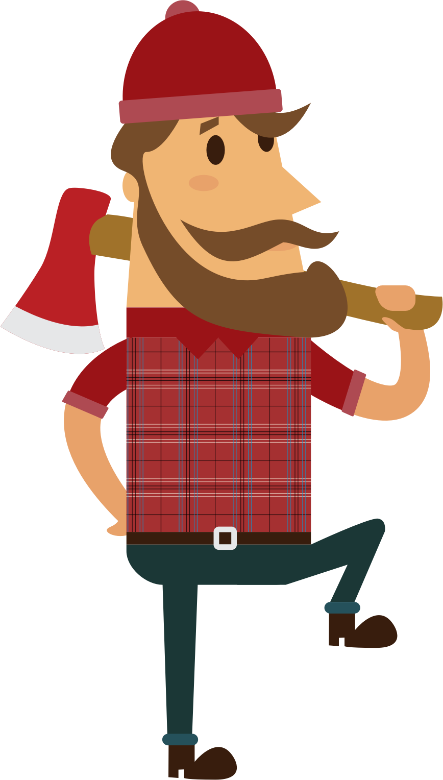 PNG Lumberjack