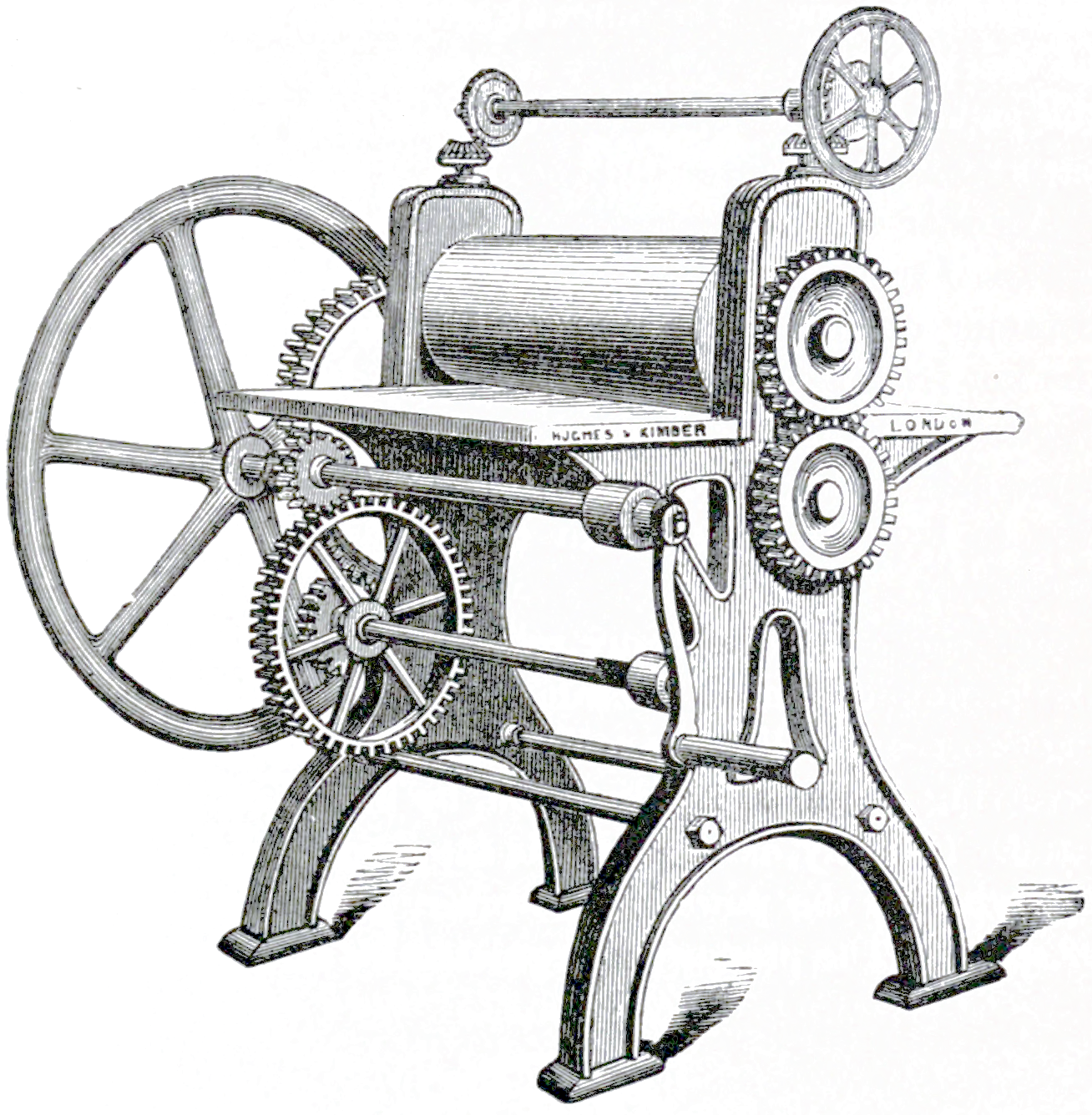 File:Art of Bookbinding p043 Rolling Machine.png - PNG Machine