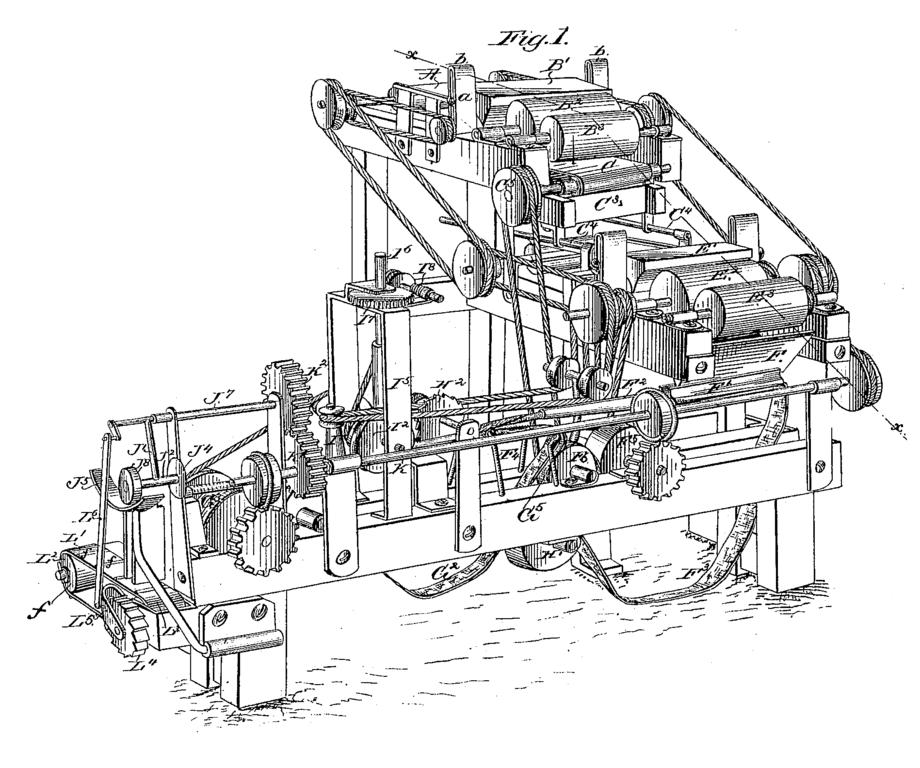 File:Bonsack machine.png - PNG Machine