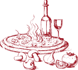 Hvilken vin skal man drikke til maden? Ja, det kan der være mange meninger  om, men man kommer nok ikke uden om, at det i høj grad har noget at gøre  med, PlusPng.com  - PNG Mad Og Vin