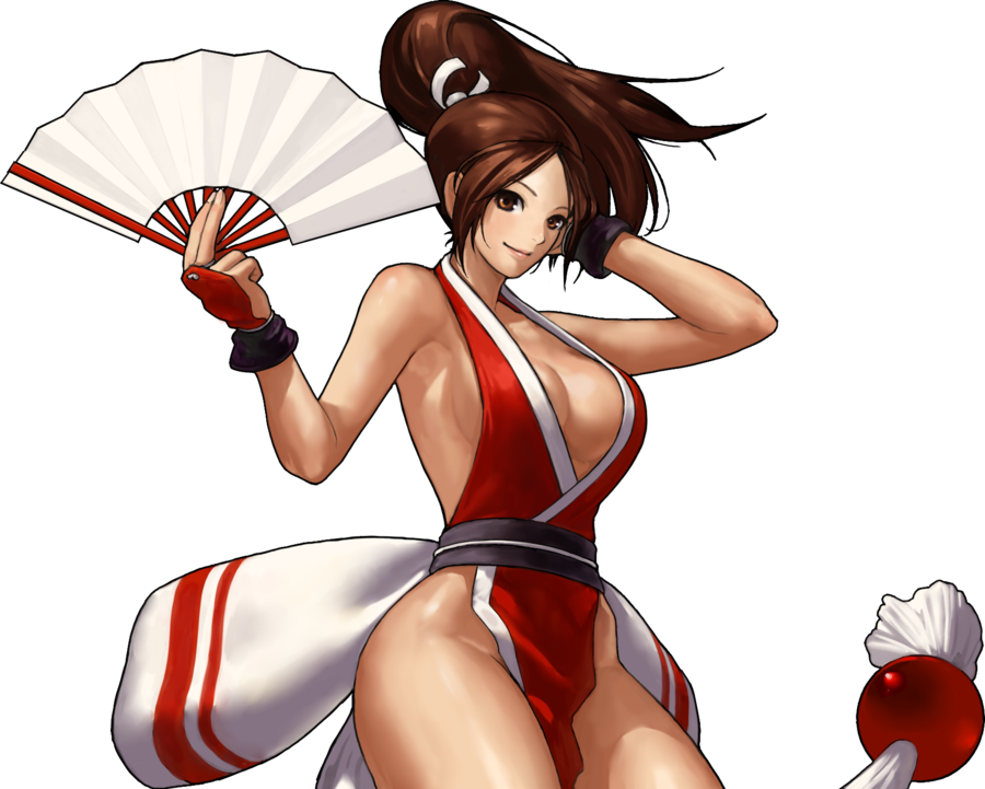 Mai Shiranui By Geos9104-d4epxby.png - PNG Mai