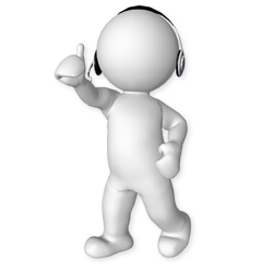 3D Man with Headset - PNG Man 3d