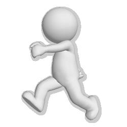man-walking.png 250×250 pixels | pulmonary | Pinterest | 3d and 3d character - PNG Man 3d