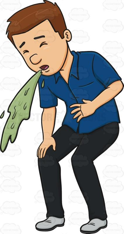 PNG Man Vomiting - 55743