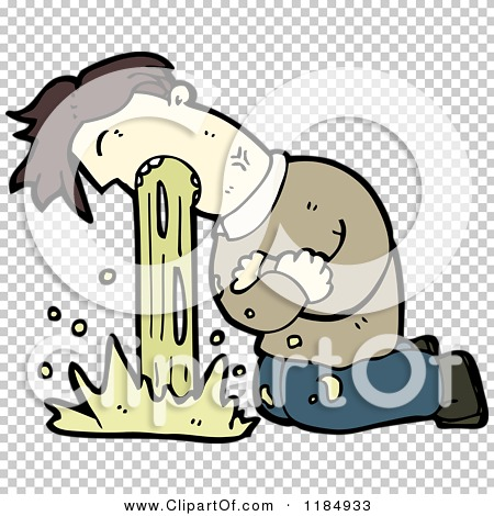 PNG Man Vomiting - 55738