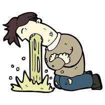 PNG Man Vomiting - 55730
