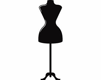 Seamstress Mannequin #1 Alterations Tailoring Fashion Design Make Sewing  Sew Clothes.SVG .EPS - PNG Mannequin