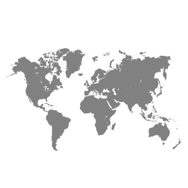 PNG Map Black And White - 79482