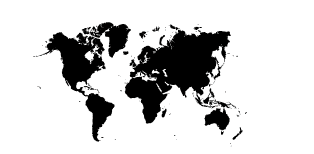 PNG Map Black And White - 79486