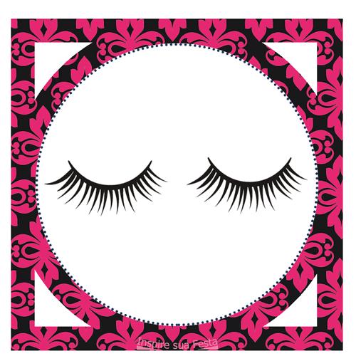 Tag-redonda-personalizada-maquiagem-6.png (500×500) - PNG Maquiagem
