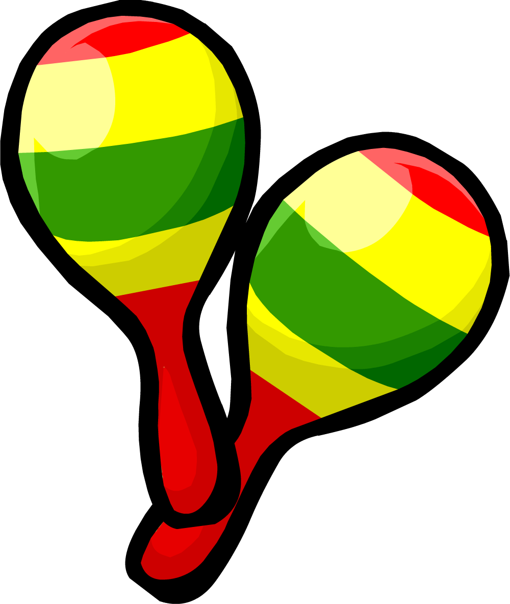 Image - Festive Maracas clothing icon ID 337.png | Club Penguin Wiki |  FANDOM powered by Wikia - PNG Maracas