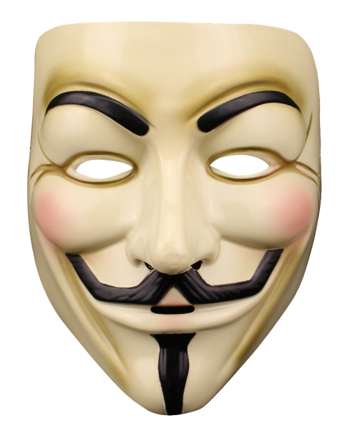 Anonymous Mask PNG Transparent Image - PNG Mask