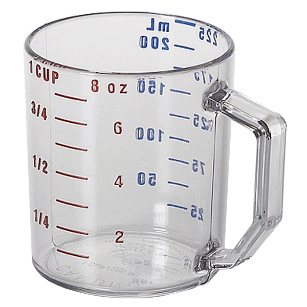 PNG Measuring Cup-PlusPNG.com-600 - PNG Measuring Cup