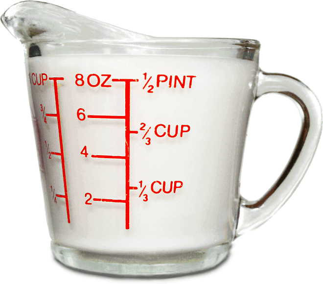 PNG Measuring Cup-PlusPNG.com-660 - PNG Measuring Cup