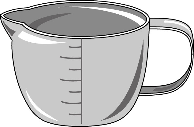 Measuring Cup Clipart | Clipart library - Free Clipart Images - PNG Measuring Cup