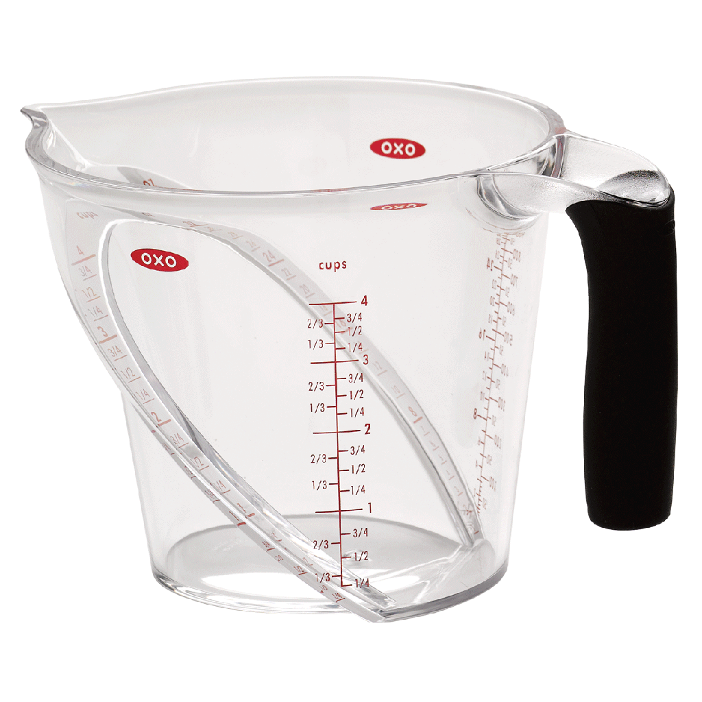 OXO Angled Measuring Cup, 4 Cups - PNG Measuring Cup