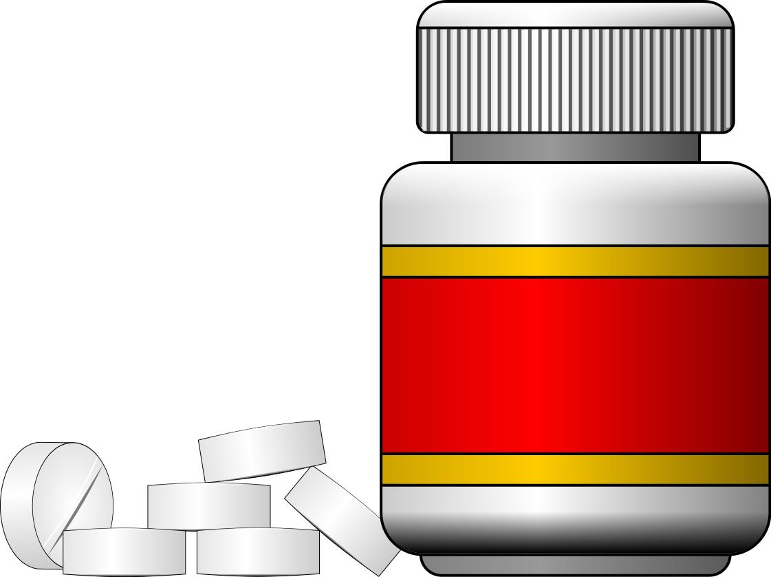PNG Medicine Bottle-PlusPNG.com-1121 - PNG Medicine Bottle
