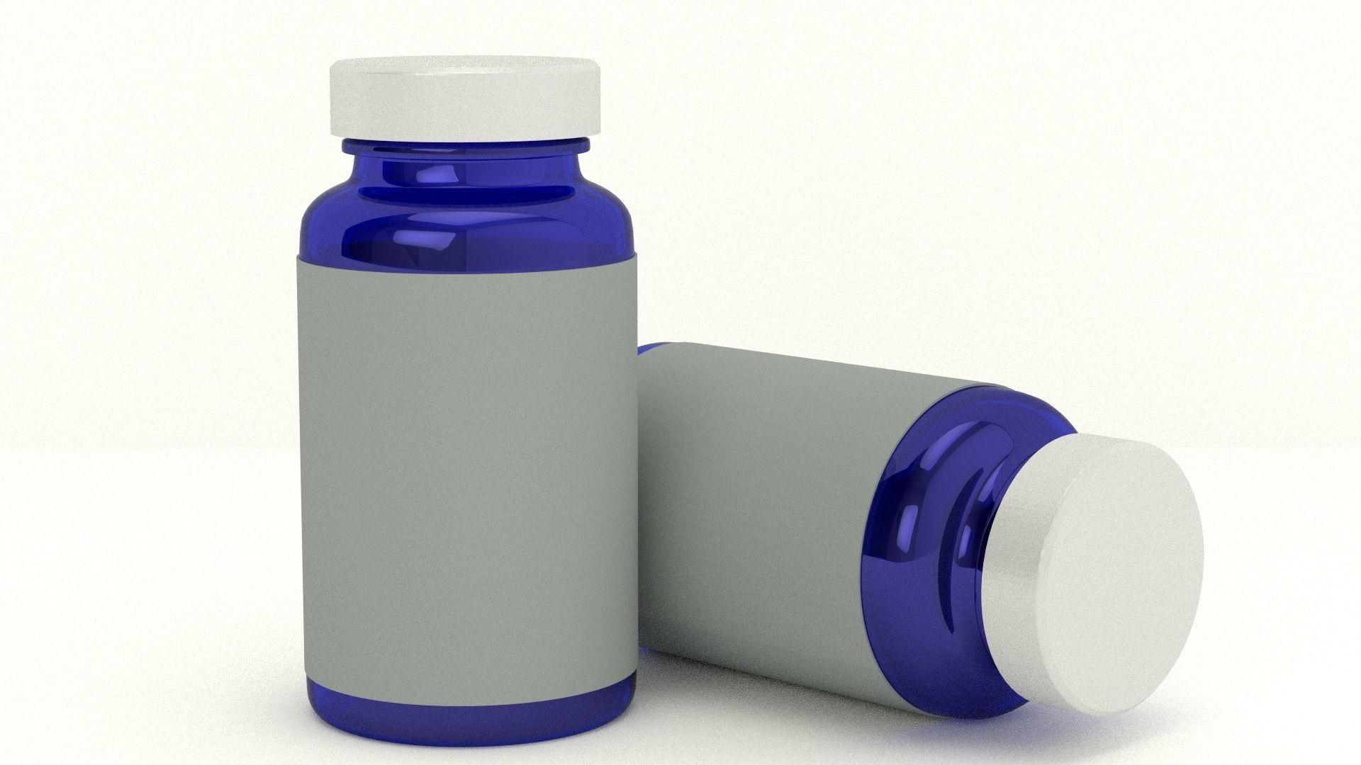 PNG Medicine Bottle - 44819