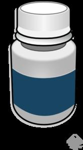 Medicine Pills Bottle Clip Art - PNG Medicine Bottle