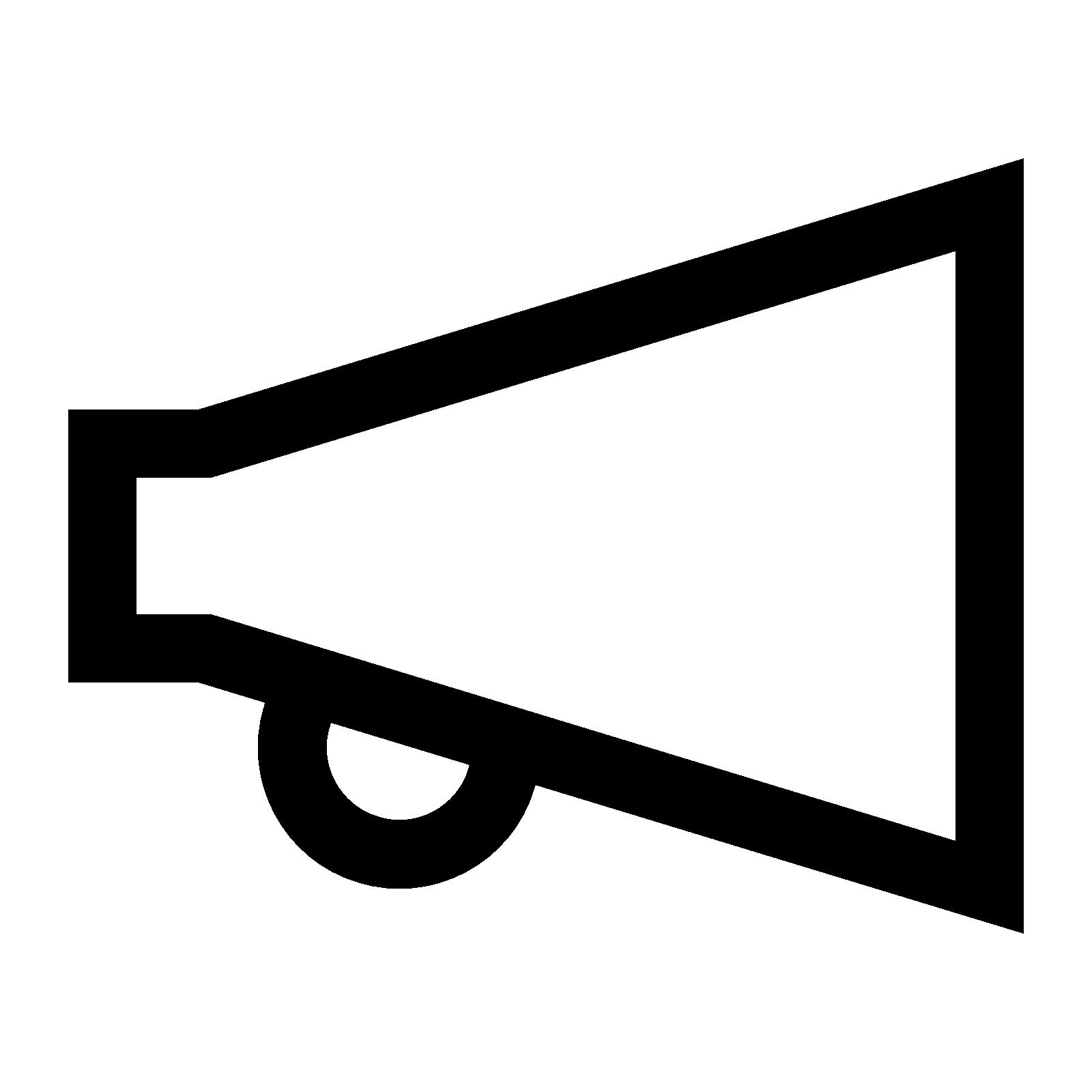 PNG Megaphone Free - 44009