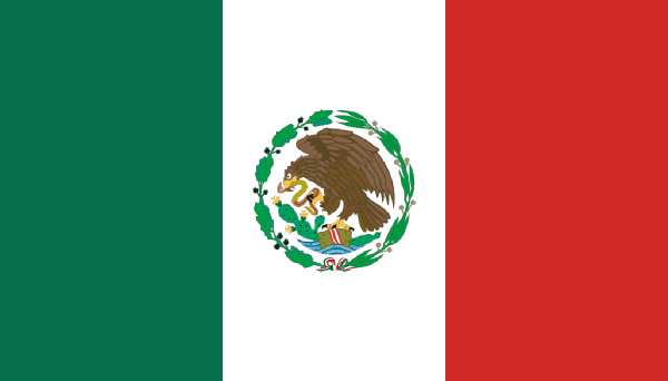 PNG Mexican Flag - 44680