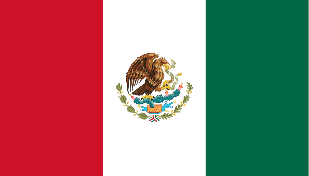 PNG Mexican Flag - 44687