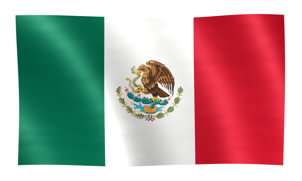 PNG Mexican Flag - 44688