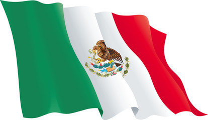 PNG Mexican Flag - 44691