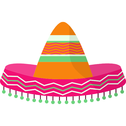 PNG Mexican Hat - 46082