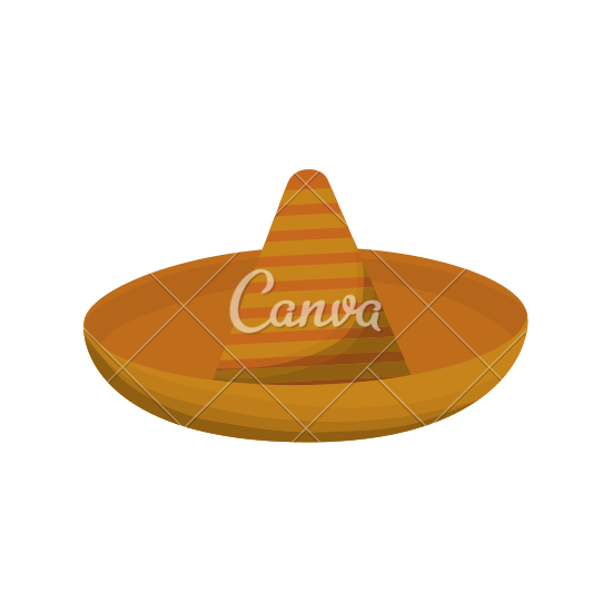 Mexican Hat Icon - PNG Mexican Hat