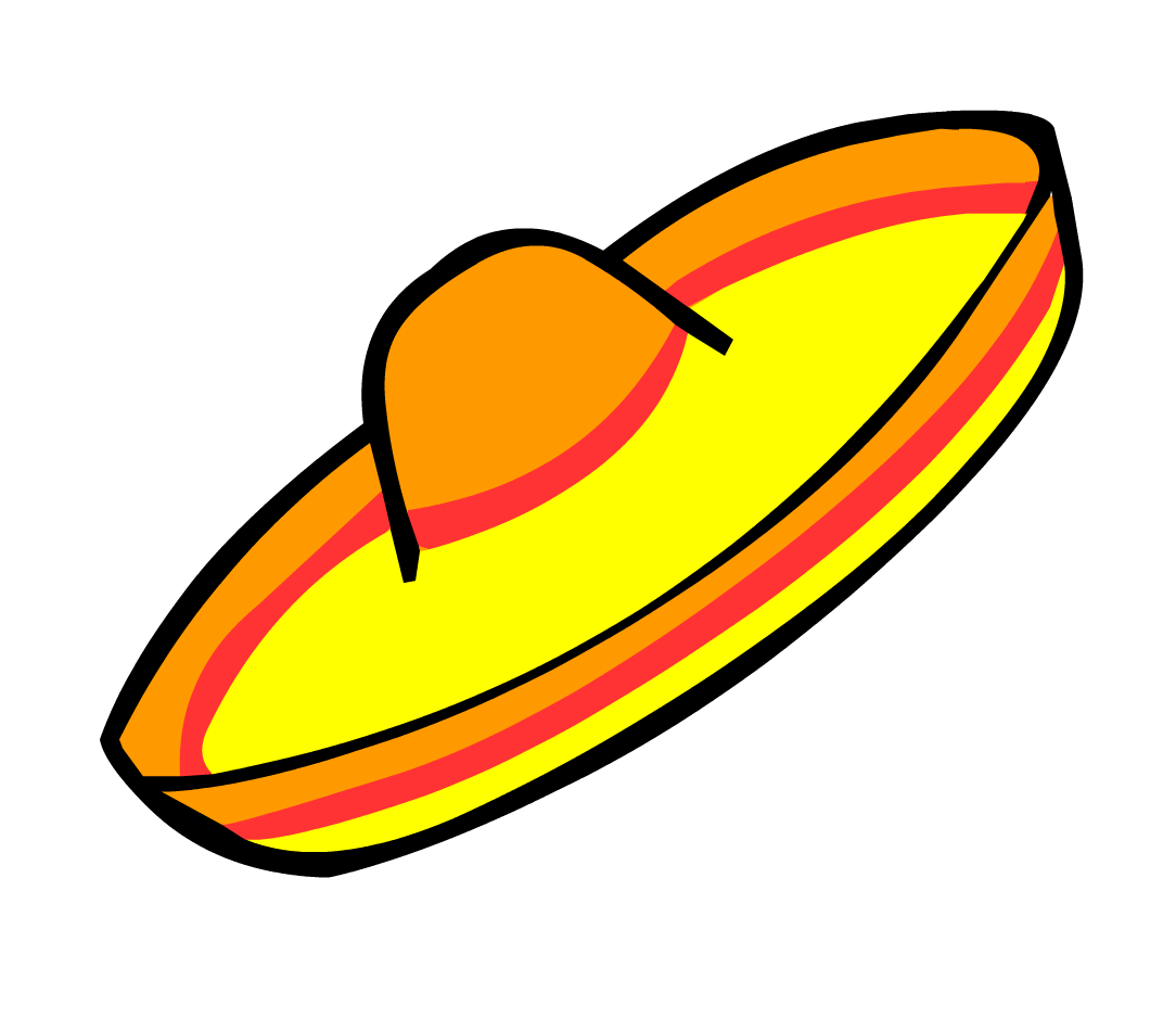 PNG Mexican Hat - 46093