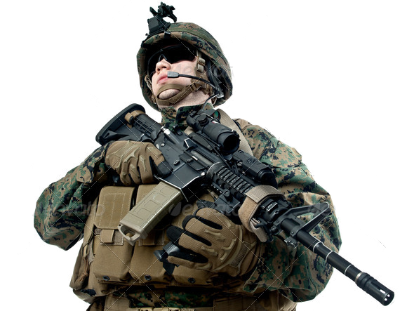 PNG Military Soldier - 73402