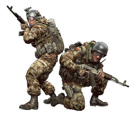 File:MW3 Spetsnaz AK47.png - PNG Military Soldier