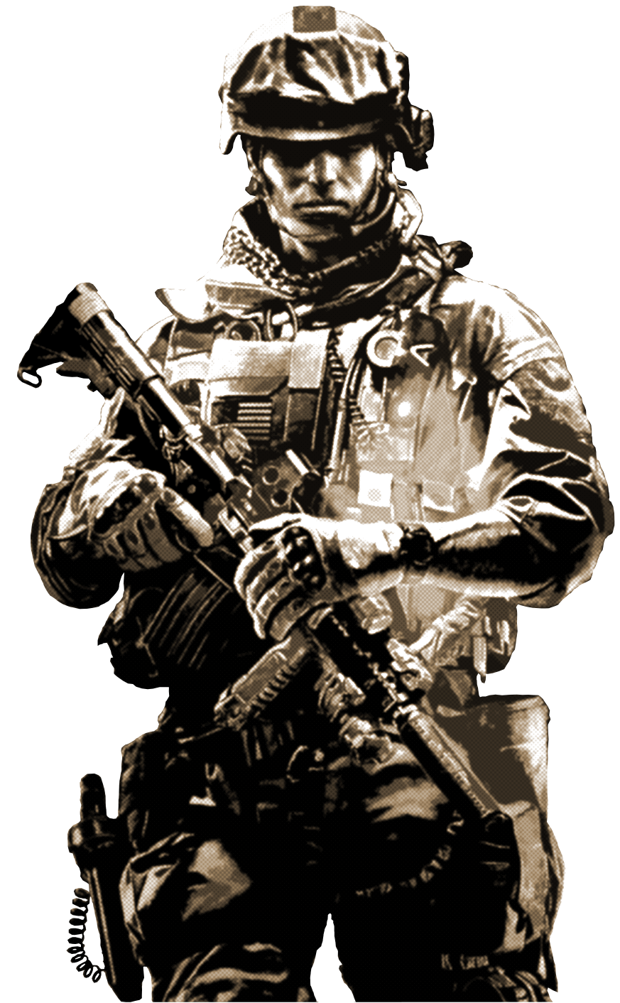 PNG Military Soldier - 73405
