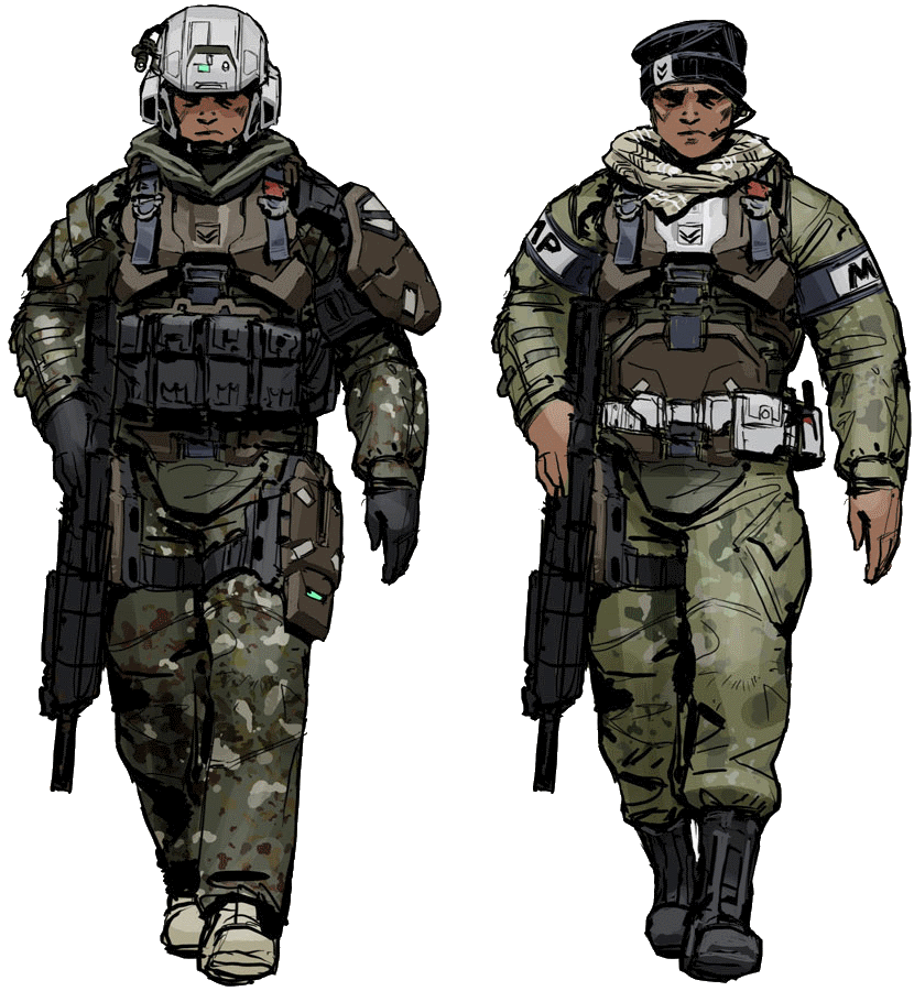 PNG Military Soldier - 73403