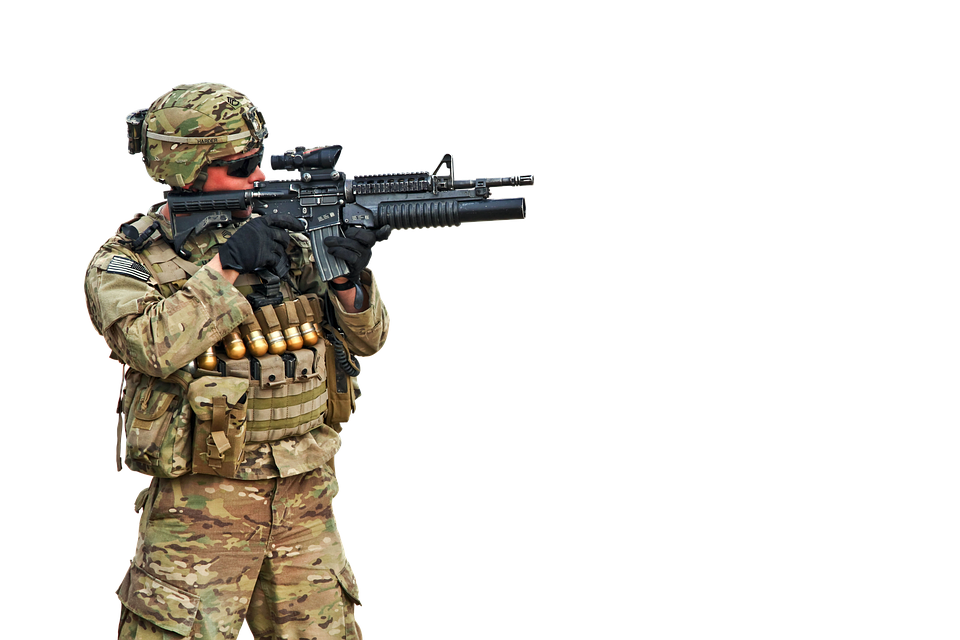 PNG Military Soldier - 73398